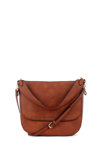 Warehouse, WIDE STRAP SHOULDER BAG Tan 0