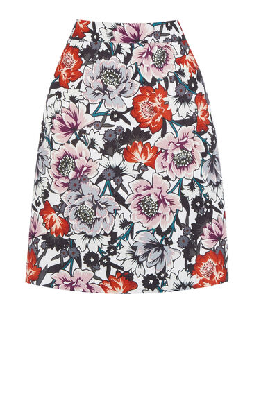 Warehouse, FLORAL PRINT PELMET SKIRT Multi 0