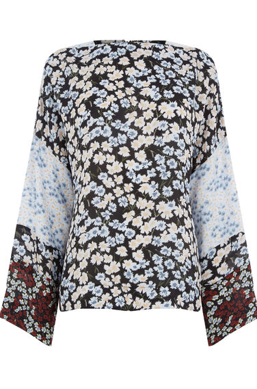 Warehouse, SWEET WILLIAM PRINT TOP Multi 0