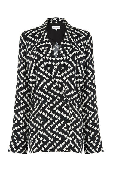 Warehouse, ZIG ZAG JACKET Multi 0