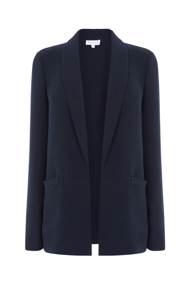 Warehouse, RELAXED FIT JACKET Navy 0