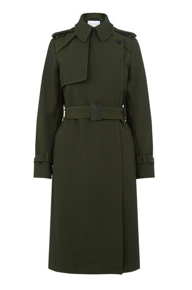 Warehouse, Premium Trench Coat Khaki 0