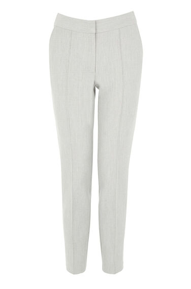 Warehouse, PREMIUM SLIM LEG TROUSER Light Grey 0