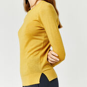 Warehouse, CREW JUMPER Mustard 4