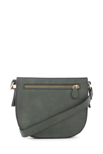 Warehouse, SQUARE CASUAL CROSSBODY Khaki 0
