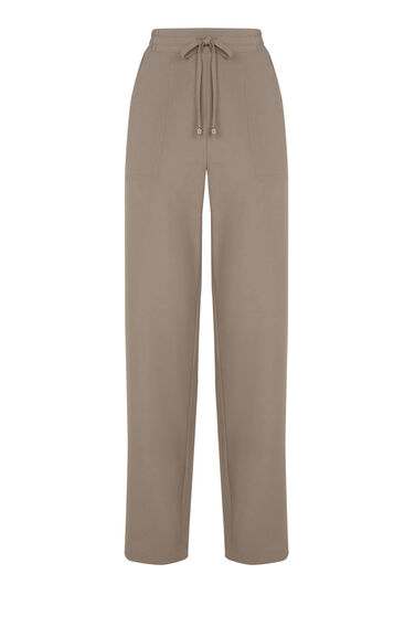 Warehouse, CREPE JOGGER Mink 0