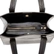 Warehouse, Belt Detail Shopper Bag Black 4