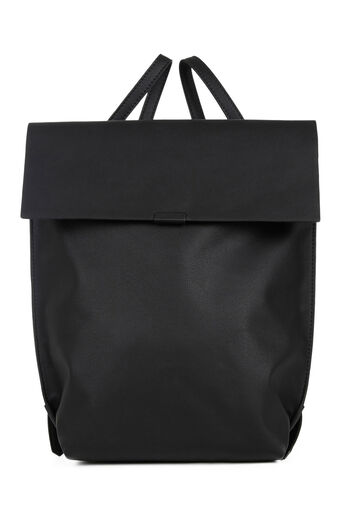 Warehouse, Bonded Rucksack Black 0
