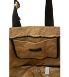 Warehouse, D RING CANVAS TOTE BAG Camel 3