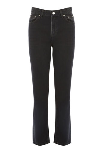 Warehouse, MOM CUT JEANS Dark Grey 0