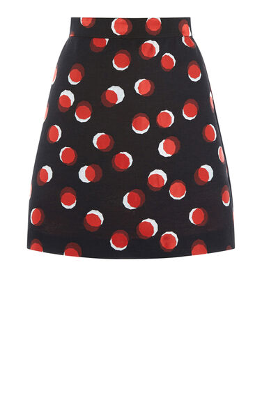 Warehouse, TOFFEE PENNY SKIRT Multi 0