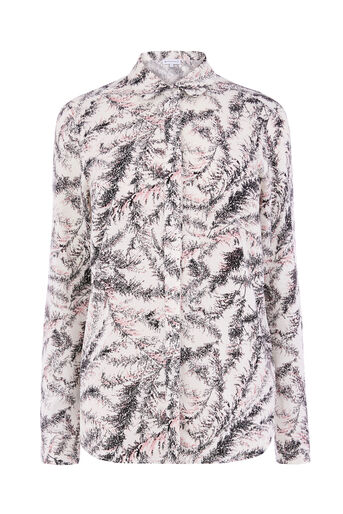 Warehouse, FERN PRINT SHIRT Neutral  Print 0