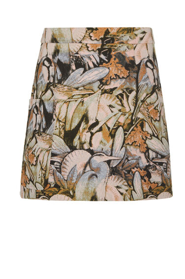 Warehouse, WOODLAND PELMET SKIRT Multi 0