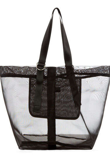 Warehouse, D RING MESH TOTE BAG Black 0