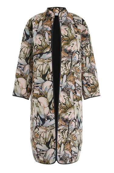 Warehouse, Woodland Oversized Coat Multi 0