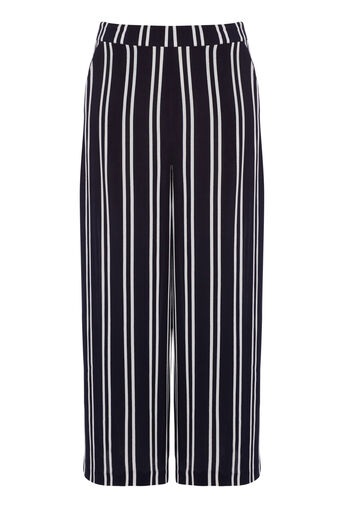 Warehouse, STRIPE CULOTTES Blue Stripe 0