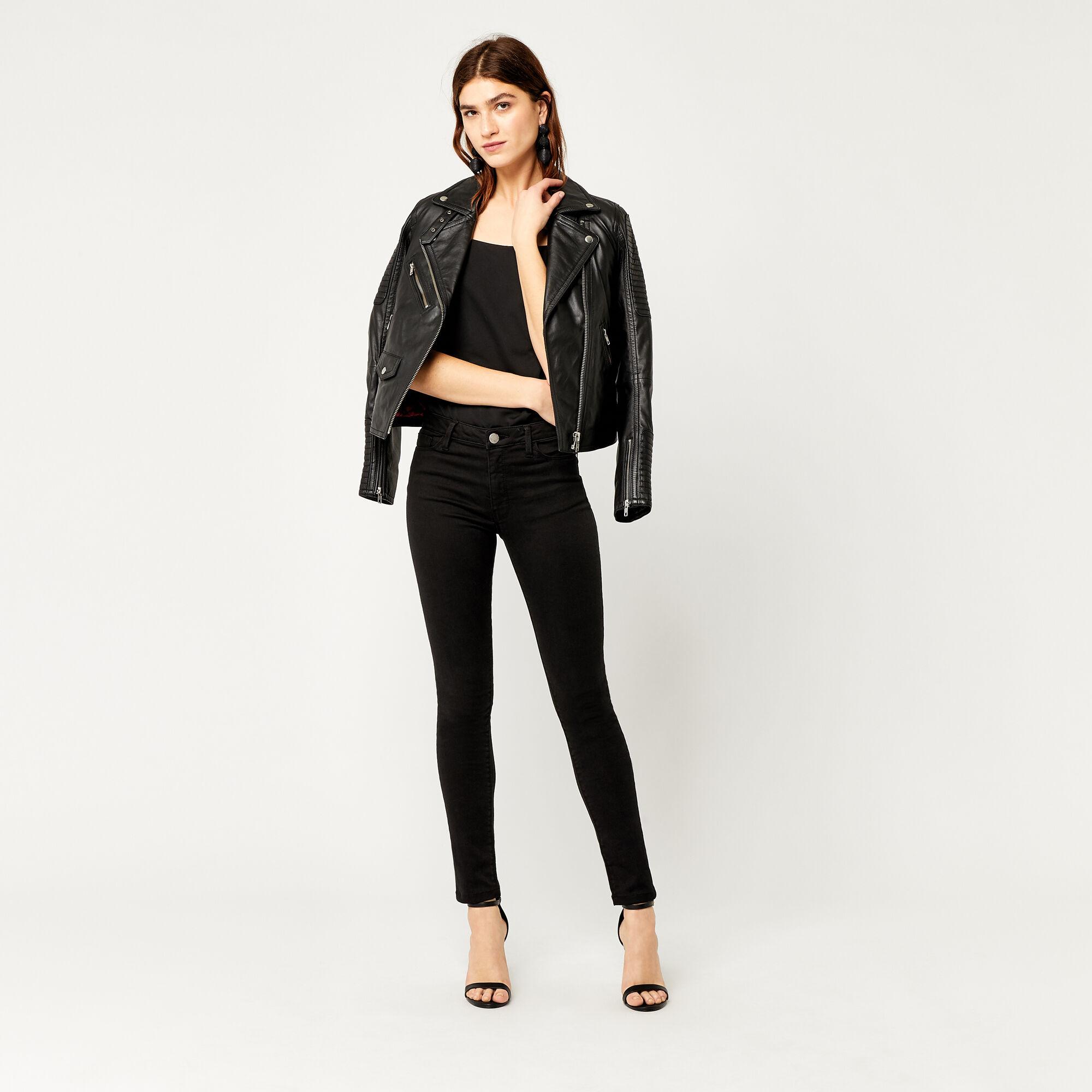 Warehouse, Powerhold Skinny Cut Jeans Black 1