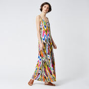 Warehouse, RAINBOW IKAT MAXI DRESS Multi 1