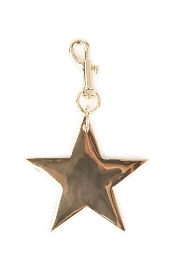 Warehouse, STAR KEYRING Gold Colour 0