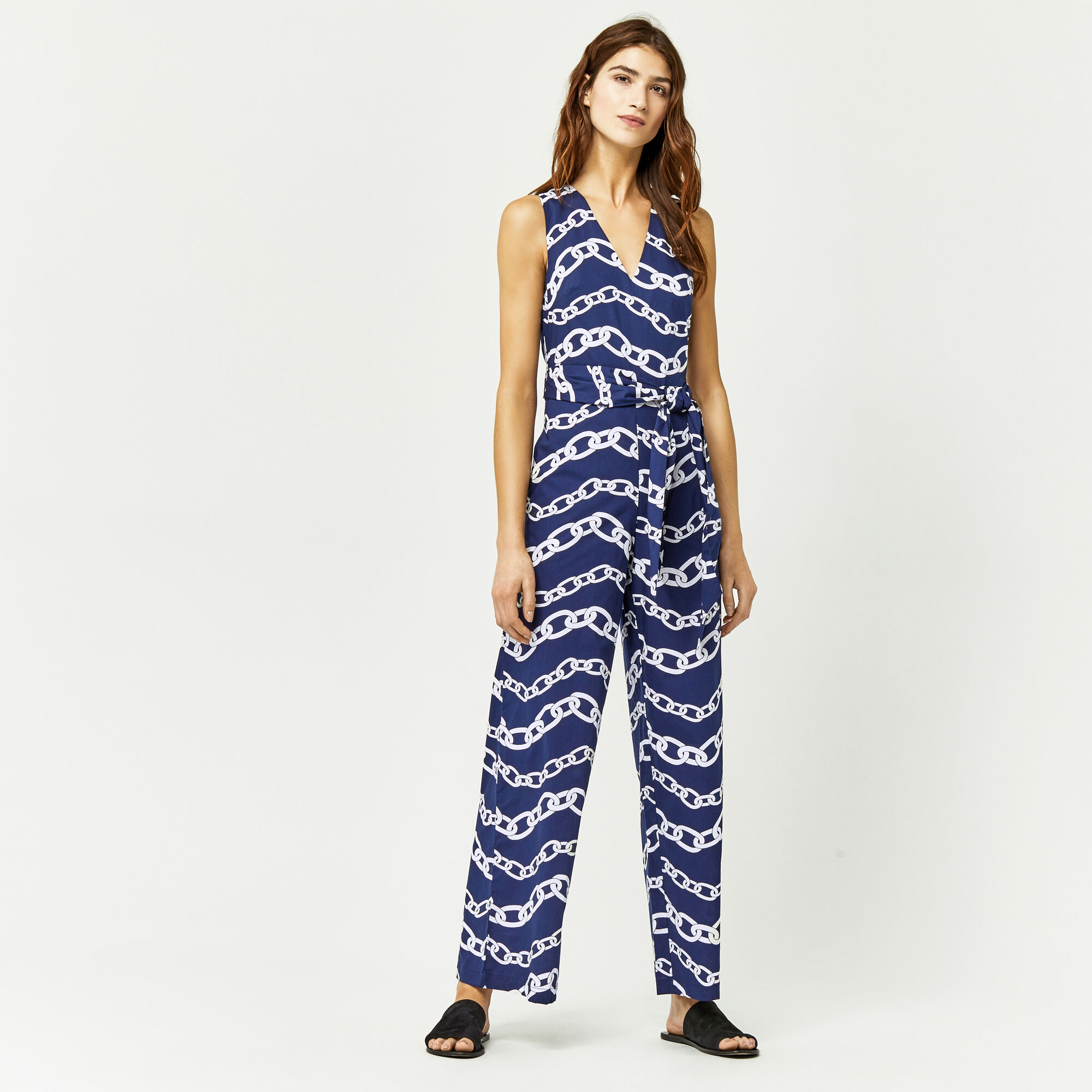 Your style inspiration starts with this distinctive assortment of printed jumpsuits. Let your mind be free and outfit look perfect. Update your look with something new from brands like Ramy Brook, Otto d'ame, Citrine Swim, See By Chloe Clothing, Pret-a-Surf, and Saloni.