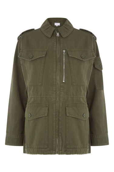 Warehouse, Military Jacket Khaki 0