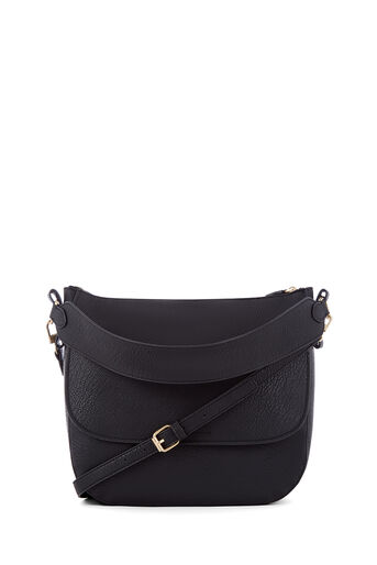 Warehouse, WIDE STRAP SHOULDER BAG Black 0