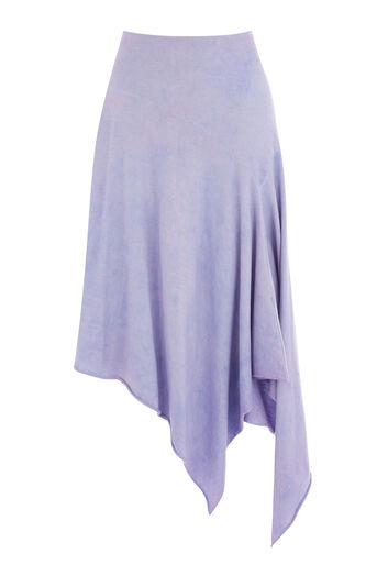 Warehouse, HYPERGLOW SKIRT Light Purple 0
