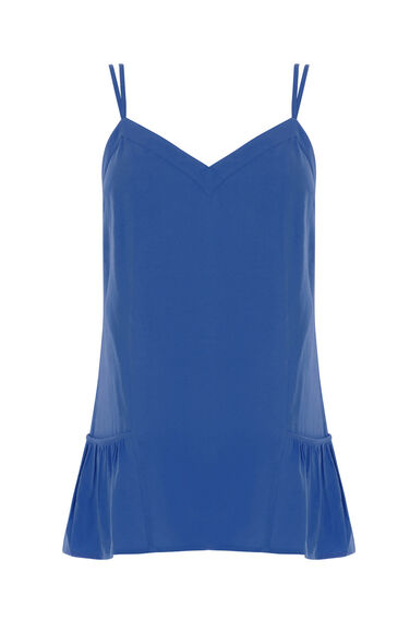 Warehouse, Double Strap Cami Bright Blue 0