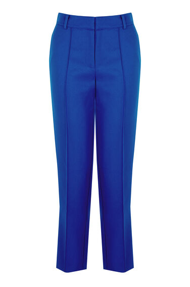 Warehouse, STITCH SEAM TROUSER Bright Blue 0