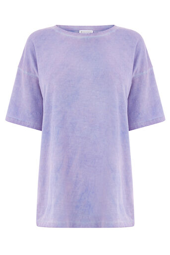 Warehouse, HYPERGLOW TEE Light Purple 0