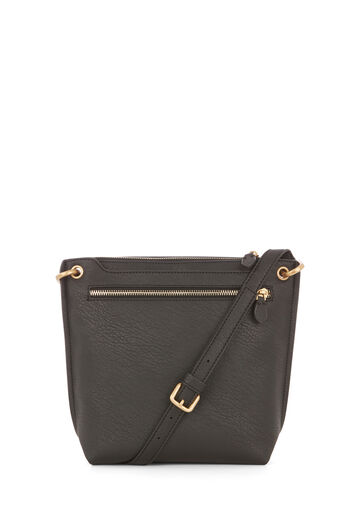 Warehouse, DOUBLE ZIP CROSS BODY BAG Black 0