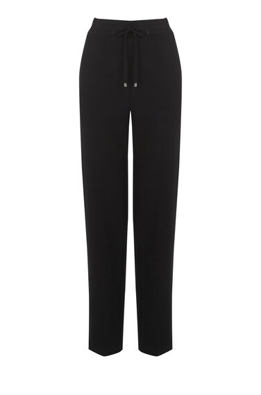 Warehouse, CREPE JOGGER Black 0