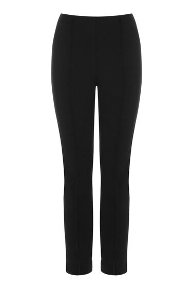 Warehouse, PONTE TROUSER Black 0