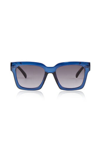Warehouse, D Frame Sunglasses Navy 0