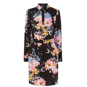 Warehouse, Garden Floral Shirt Dress Multi 0