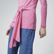 Warehouse, TIE WAIST JUMPER Bright Pink 4