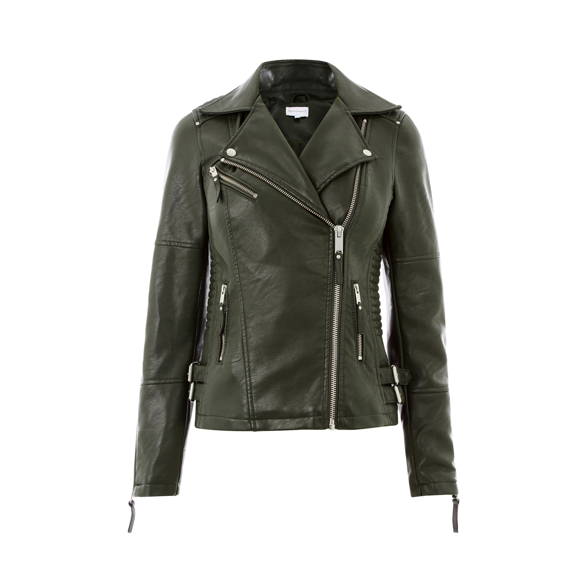 Faux leather jacket meaning