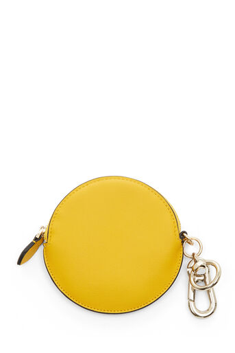 Warehouse, KEYRING COIN PURSE Yellow 0