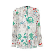 Warehouse, ORIENTAL FLORAL SHIRT Multi 0