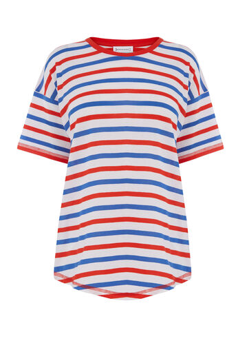 Warehouse, TRI STRIPE COLOUR TEE Multi 0