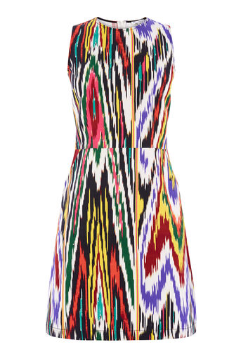 Warehouse, IKAT PRINT DRESS Multi 0