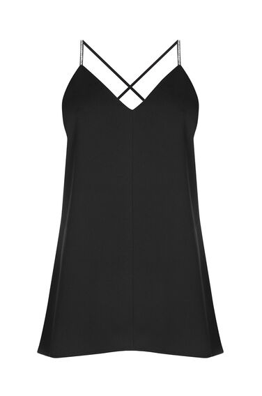 Warehouse, DIAMANTE CAMI Black 0