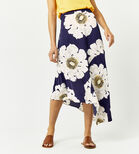 Warehouse, MELODY FLORAL SKIRT Blue Pattern 3