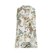 Warehouse, MEADOW FLORAL WOVEN FRONT TOP Multi 0