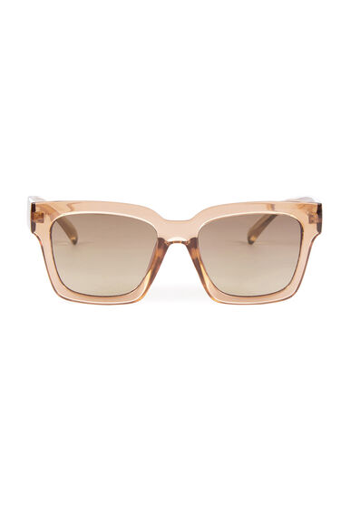 Warehouse, D Frame Sunglasses Clear 0