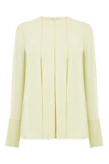 Warehouse, BOX PLEAT TOP Yellow 0