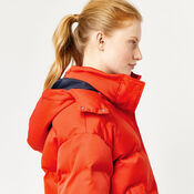 Warehouse, Fashion Padded Coat Bright Red 4