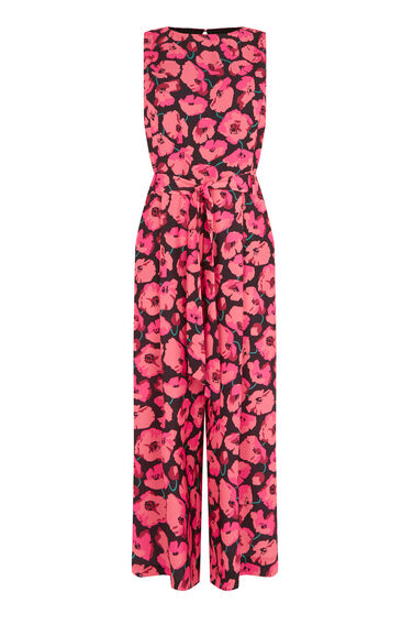 Warehouse, POPPY PRINT JUMPSUIT Multi 0