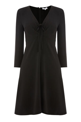 Warehouse, TEA DRESS Black 0