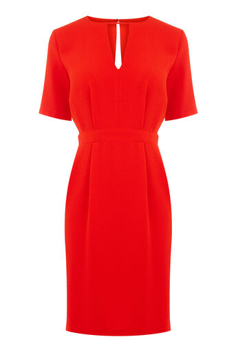 Warehouse, V FRONT DRESS Bright Red 0